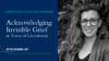 Image of Karima Joy, the presenter of the Acknowledging Invisible Grief webinar
